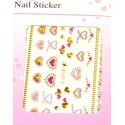 Colorful Gold Stickers 8