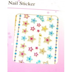 Colorful Gold Stickers 9