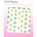 Colorful Gold Stickers 10