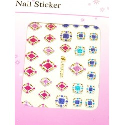 Colorful Gold Stickers 11