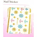 Colorful Gold Stickers 13