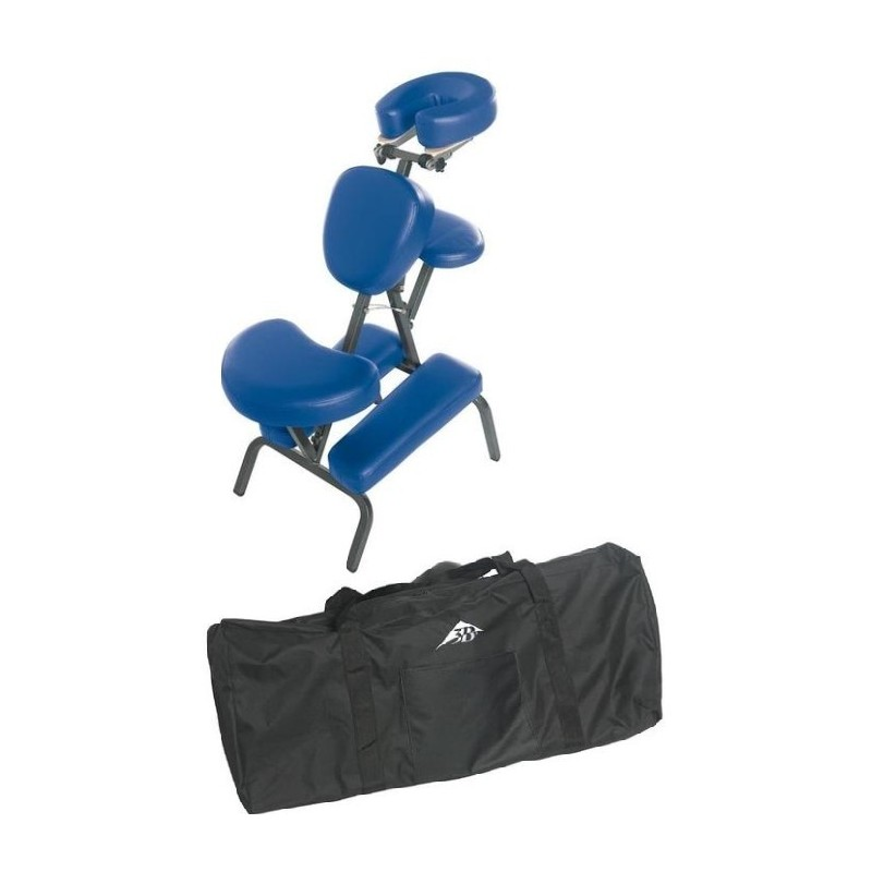 Portable Massage Chair Blue