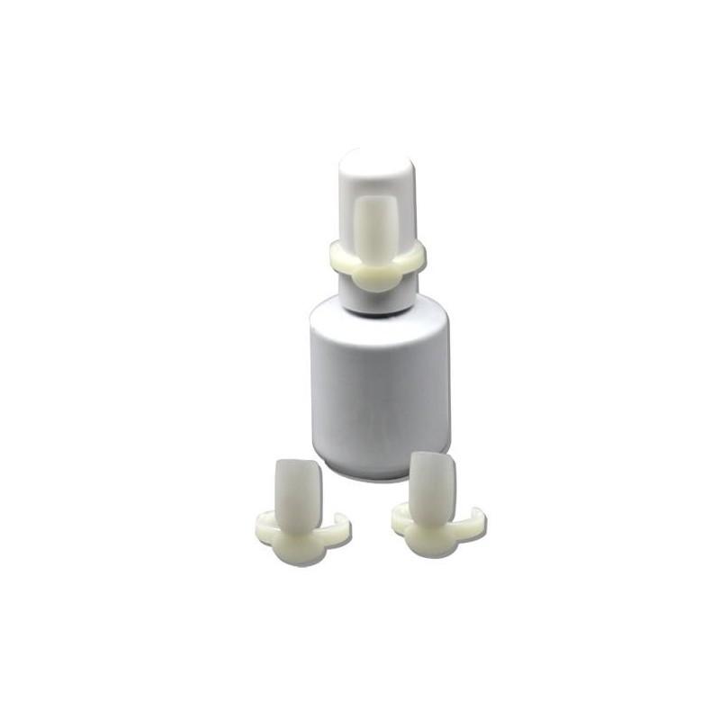 Nail Polish Display Rings Natural 10pcs