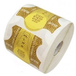 Nail Forms - Leopard 500 roll