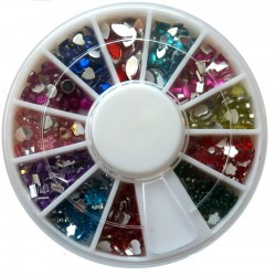 Rhinestones Mix Color and Shapes