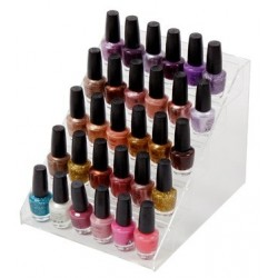 Display for 30 Polishes - Clear
