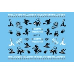 Halloween Nail Stickers -079