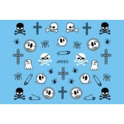 Halloween Nail Stickers -093