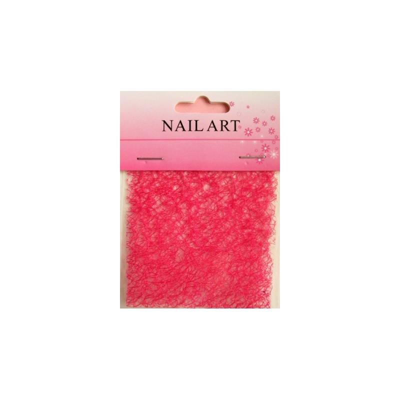 200 - Nail Art Spider Net Light Red
