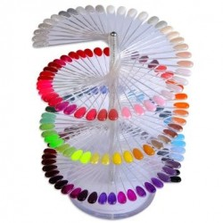 Spiral Nail Art Display-150 sticks(välj farg)