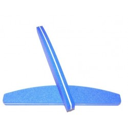 Crescent Sponge File Blue