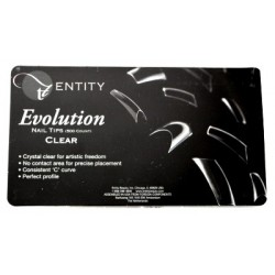 Entity Clearl Evolution Nail Tips 500pcs.