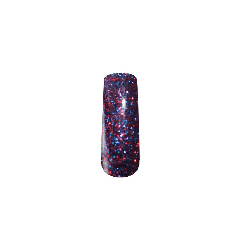 2107 Red Blue - Glitter Gel 4,5gr