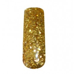 NG Super Glitter Gel - Gold 1-4