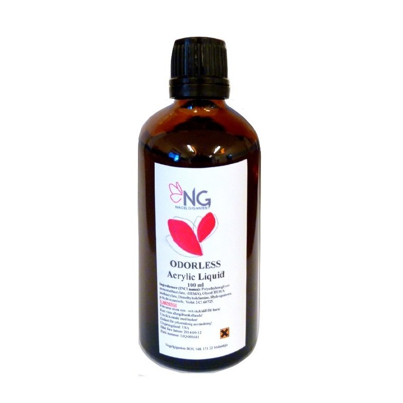 NG Odorless Acrylic Liquid 100 ml