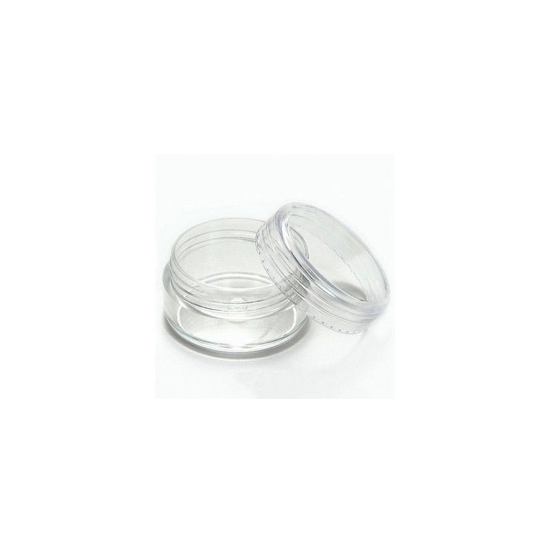 Glitter Jars 3ml 10st. pack