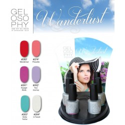 AN Gelosophy Wanderlust Collection 6 pcs display