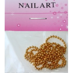 15 Gold - Nail Art Chain in Bag