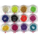 Nail Art Chain Kit 12 Colors in Box