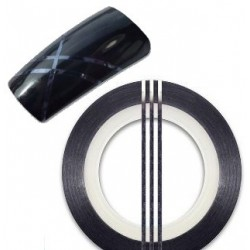 Striping Tape Black Bred(ca 2mm)