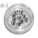 2826 Swarovski Snowflake - Crystal AB 10st (5mm)
