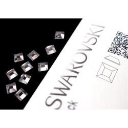 2400 Swarovski Square - Crystal 10st (6mm)