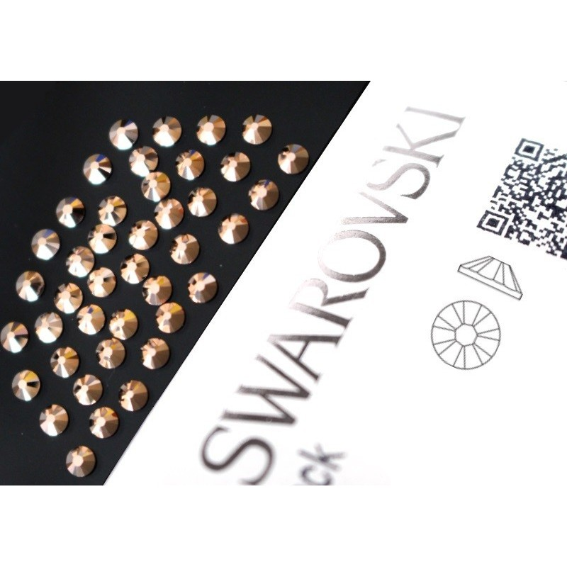 2058 Swarovski - Rose Gold 40st (ca.2.6mm)