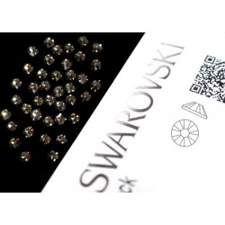 2058 Swarovski - Black Diamond 40st (ca.2.6mm)
