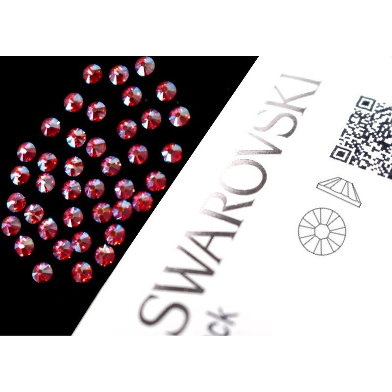 2058 Swarovski - Rose AB 40st (ca.2.6mm)