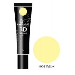 004 Yellow - NP 3D Embossed Gel 7g