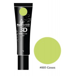 005 Green - NP 3D Embossed Gel 7g