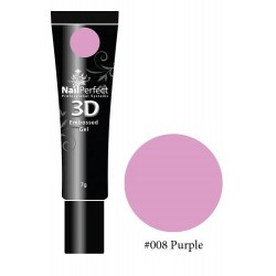 008 Purple - NP 3D Embossed Gel 7g