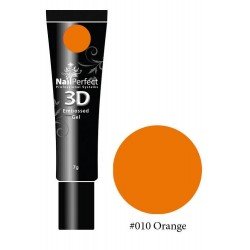 010 Orange - NP 3D Embossed Gel 7g