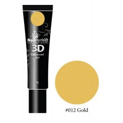 012 Gold - NP 3D Embossed Gel 7g