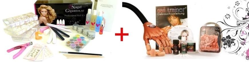 Startkit för nagelförlängning
